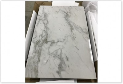 Стол CORNER 120 Spanish Marble Ceramic+Grey1