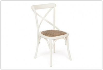 Стул CROSS CHAIR СВ2001 butter whete
